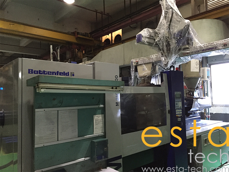 battenfeld injection moulding machine