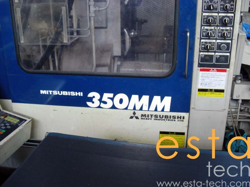 Mitsubishi 350MM-40 (1992) Plastic Injection Molding Machine