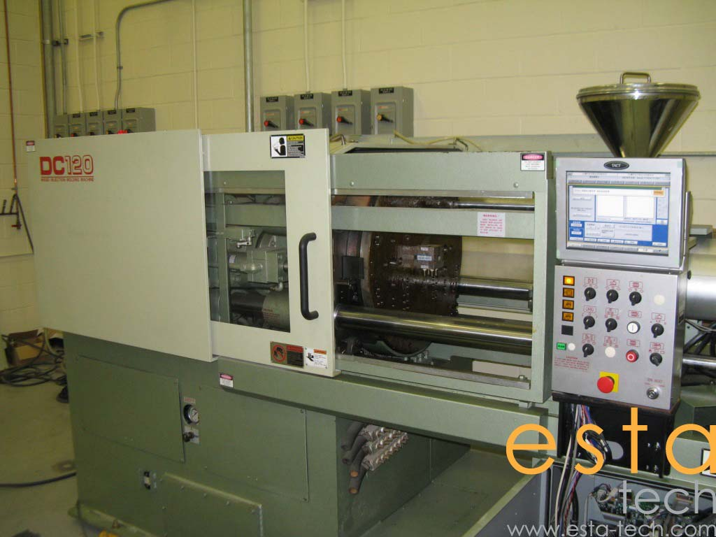 Nissei DC120-9A (2004) Two color injection molding machine